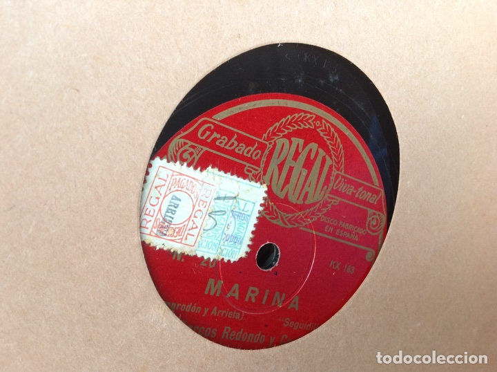 Discos de pizarra: ALBUM 12 DISCOS PIZARRA EL BARBERO DE SEVILLA MARINA LA DANZA EVA POLYDOR - Foto 22 - 83354552