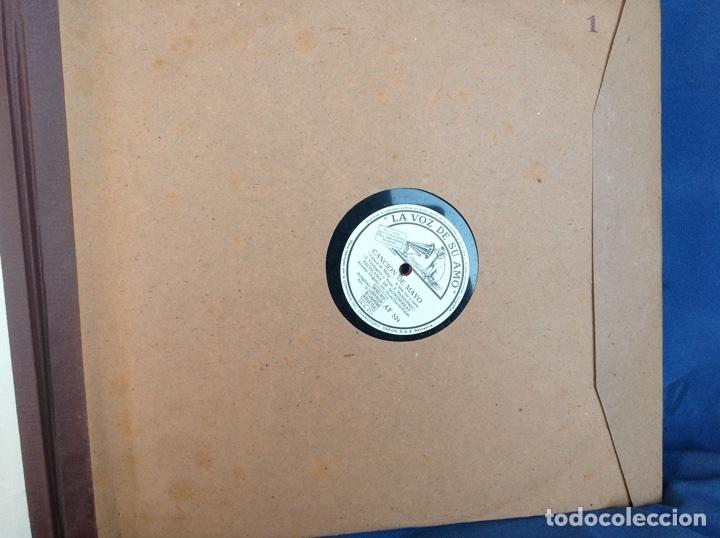 Discos de pizarra: ALBUM 12 DISCOS PIZARRA EL BARBERO DE SEVILLA,LA VOZ DE SU AMO REGAL COLUMBIA - Foto 2 - 83355352