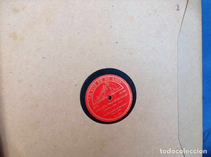 Discos de pizarra: ALBUM 12 DISCOS PIZARRA EL BARBERO DE SEVILLA,LA VOZ DE SU AMO REGAL COLUMBIA - Foto 4 - 83355352