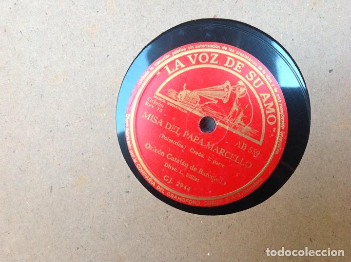 Discos de pizarra: ALBUM 12 DISCOS PIZARRA EL BARBERO DE SEVILLA,LA VOZ DE SU AMO REGAL COLUMBIA - Foto 5 - 83355352
