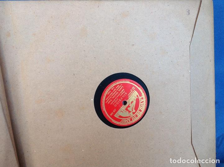 Discos de pizarra: ALBUM 12 DISCOS PIZARRA EL BARBERO DE SEVILLA,LA VOZ DE SU AMO REGAL COLUMBIA - Foto 6 - 83355352