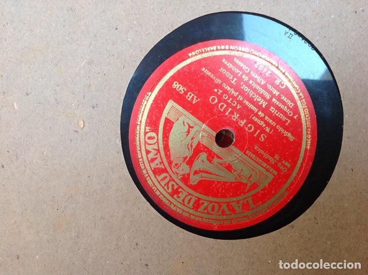 Discos de pizarra: ALBUM 12 DISCOS PIZARRA EL BARBERO DE SEVILLA,LA VOZ DE SU AMO REGAL COLUMBIA - Foto 7 - 83355352