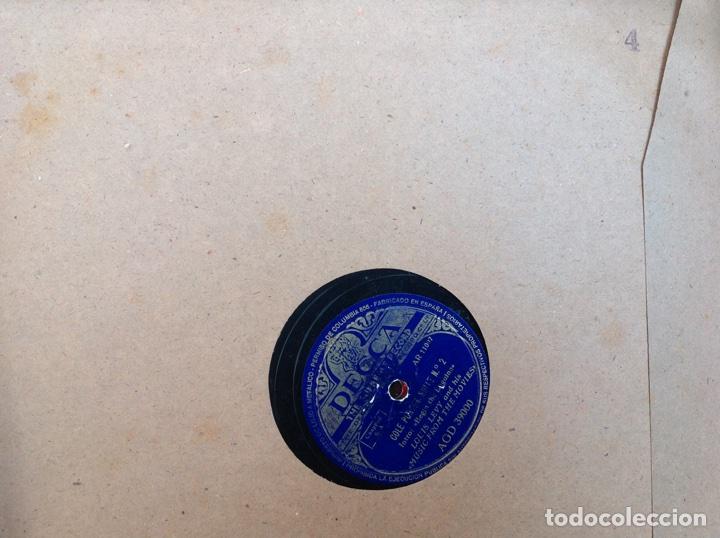 Discos de pizarra: ALBUM 12 DISCOS PIZARRA EL BARBERO DE SEVILLA,LA VOZ DE SU AMO REGAL COLUMBIA - Foto 8 - 83355352