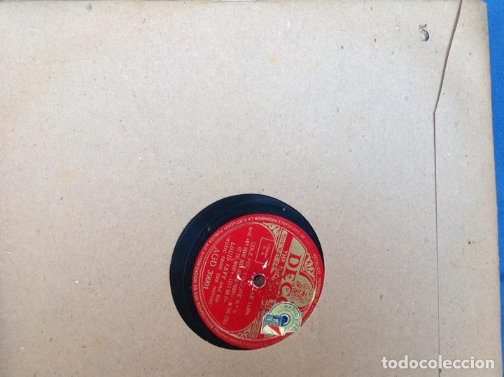 Discos de pizarra: ALBUM 12 DISCOS PIZARRA EL BARBERO DE SEVILLA,LA VOZ DE SU AMO REGAL COLUMBIA - Foto 10 - 83355352