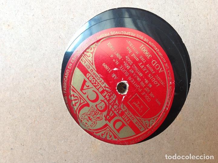 Discos de pizarra: ALBUM 12 DISCOS PIZARRA EL BARBERO DE SEVILLA,LA VOZ DE SU AMO REGAL COLUMBIA - Foto 11 - 83355352