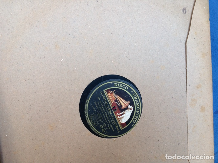 Discos de pizarra: ALBUM 12 DISCOS PIZARRA EL BARBERO DE SEVILLA,LA VOZ DE SU AMO REGAL COLUMBIA - Foto 12 - 83355352