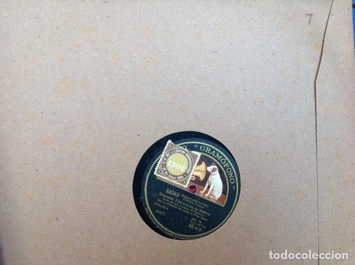 Discos de pizarra: ALBUM 12 DISCOS PIZARRA EL BARBERO DE SEVILLA,LA VOZ DE SU AMO REGAL COLUMBIA - Foto 14 - 83355352