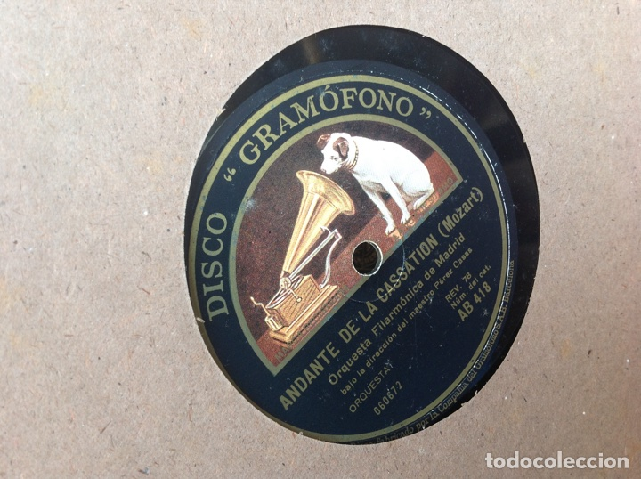 Discos de pizarra: ALBUM 12 DISCOS PIZARRA EL BARBERO DE SEVILLA,LA VOZ DE SU AMO REGAL COLUMBIA - Foto 15 - 83355352