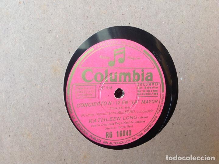 Discos de pizarra: ALBUM 12 DISCOS PIZARRA EL BARBERO DE SEVILLA,LA VOZ DE SU AMO REGAL COLUMBIA - Foto 17 - 83355352