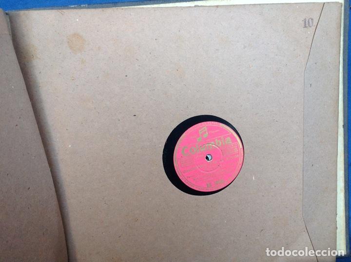 Discos de pizarra: ALBUM 12 DISCOS PIZARRA EL BARBERO DE SEVILLA,LA VOZ DE SU AMO REGAL COLUMBIA - Foto 20 - 83355352