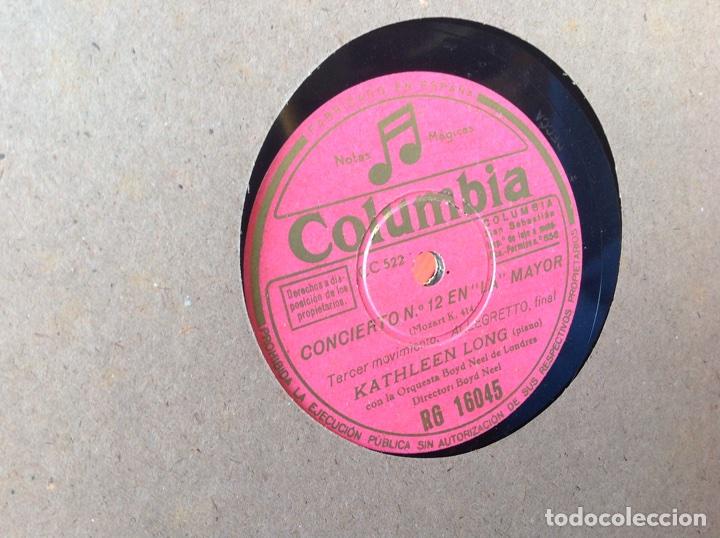 Discos de pizarra: ALBUM 12 DISCOS PIZARRA EL BARBERO DE SEVILLA,LA VOZ DE SU AMO REGAL COLUMBIA - Foto 21 - 83355352