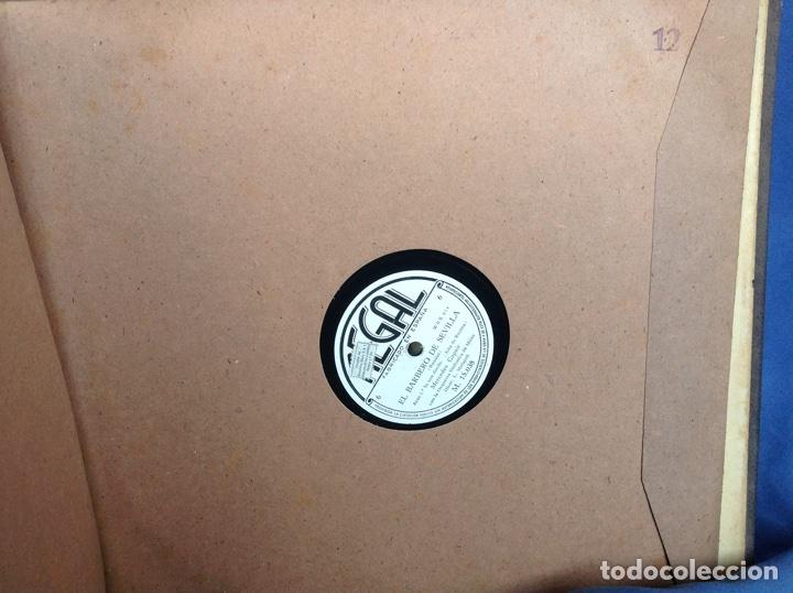 Discos de pizarra: ALBUM 12 DISCOS PIZARRA EL BARBERO DE SEVILLA,LA VOZ DE SU AMO REGAL COLUMBIA - Foto 24 - 83355352