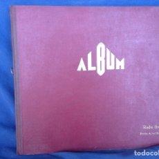 Discos de pizarra: ALBUM 3 DISCOS PIZARRA SCHUBERT PRÍNCIPE IGOR. Lote 83355930