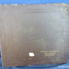 Discos de pizarra: ALBUM 12 DISCOS PIZARRA LA VOZ DE SU AMO POLONESA FANTASÍA. Lote 83357194