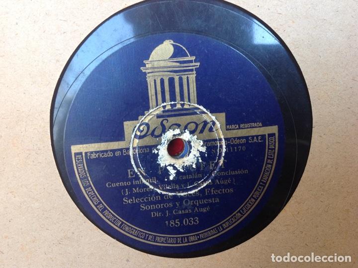 Discos de pizarra: ÁLBUM 11 DISCOS PIZARRA ,EL PATUFET,YO SOY MEXICANO DISNEY - Foto 12 - 107008123
