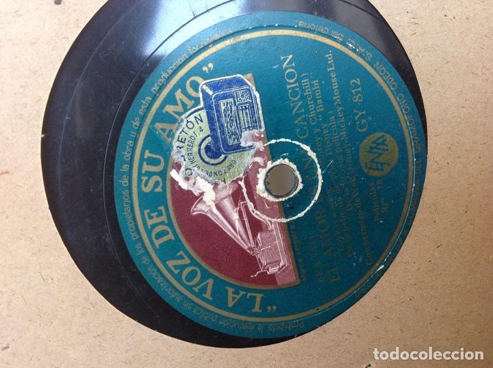 Discos de pizarra: ÁLBUM 11 DISCOS PIZARRA ,EL PATUFET,YO SOY MEXICANO DISNEY - Foto 16 - 107008123