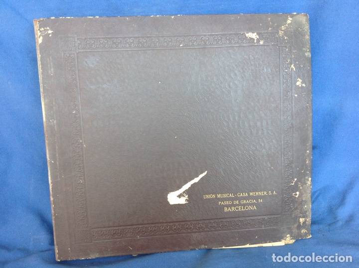 ALBUM 11 DISCOS DUMKY TRÍO HIS MASTER'S VOICE LA VOZ DE SU AMO (Música - Discos - Pizarra - Clásica, Ópera, Zarzuela y Marchas)