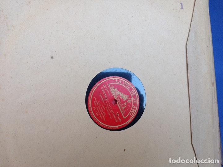 Discos de pizarra: ALBUM 11 DISCOS DUMKY TRÍO HIS MASTERS VOICE LA VOZ DE SU AMO - Foto 2 - 83366004