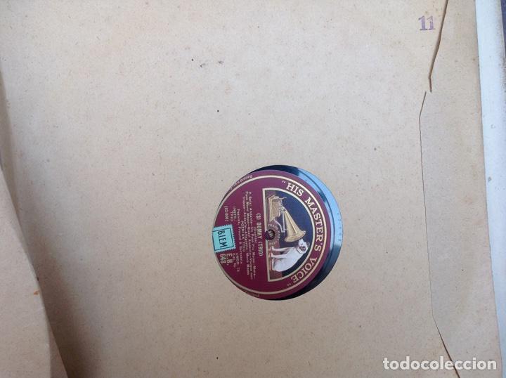 Discos de pizarra: ALBUM 11 DISCOS DUMKY TRÍO HIS MASTERS VOICE LA VOZ DE SU AMO - Foto 22 - 83366004