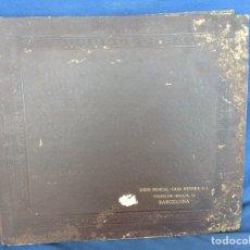 Discos de pizarra: ALBUM 12 DISCOS LA VOZ DE SU AMO FESTIVAL DE PASCUA RUSA. Lote 83366980