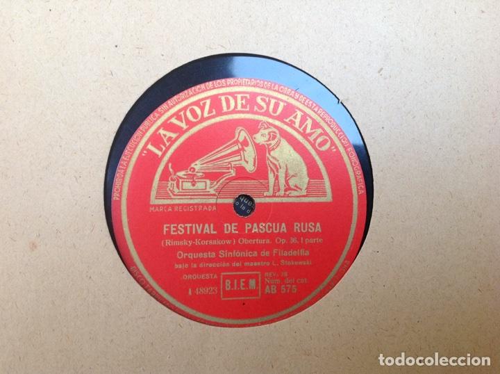 Discos de pizarra: ALBUM 12 DISCOS LA VOZ DE SU AMO FESTIVAL DE PASCUA RUSA - Foto 2 - 83366980