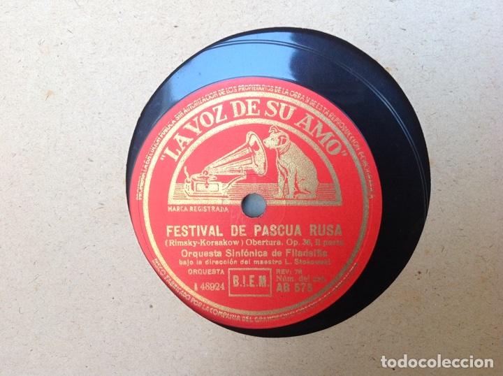 Discos de pizarra: ALBUM 12 DISCOS LA VOZ DE SU AMO FESTIVAL DE PASCUA RUSA - Foto 3 - 83366980