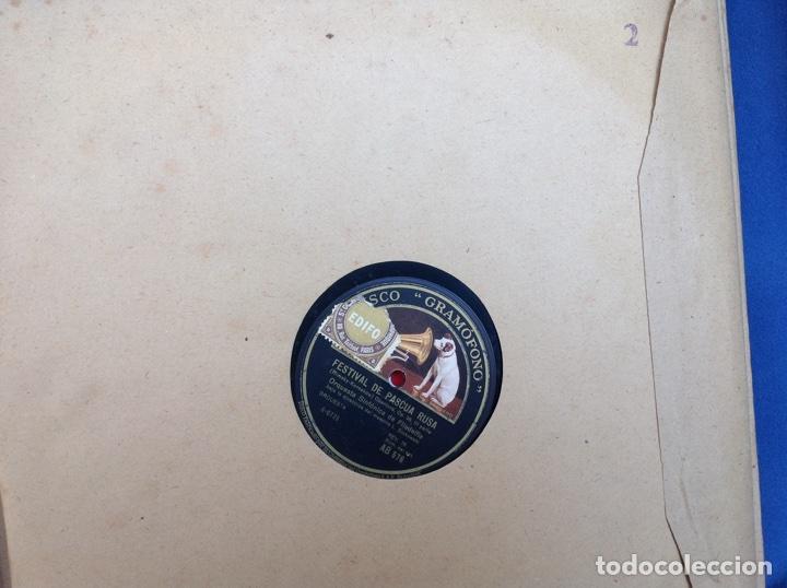 Discos de pizarra: ALBUM 12 DISCOS LA VOZ DE SU AMO FESTIVAL DE PASCUA RUSA - Foto 4 - 83366980
