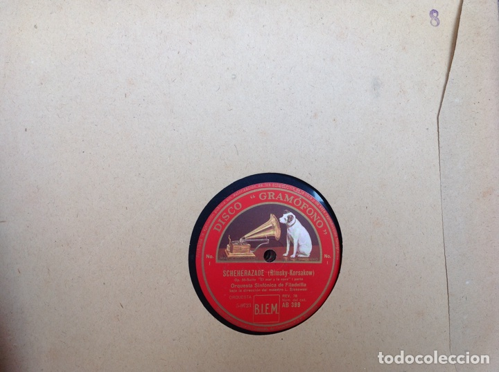 Discos de pizarra: ALBUM 12 DISCOS LA VOZ DE SU AMO FESTIVAL DE PASCUA RUSA - Foto 14 - 83366980