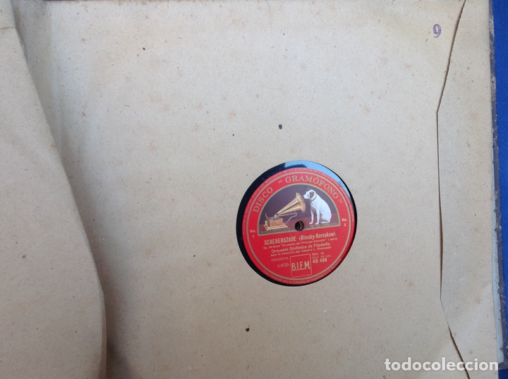 Discos de pizarra: ALBUM 12 DISCOS LA VOZ DE SU AMO FESTIVAL DE PASCUA RUSA - Foto 16 - 83366980