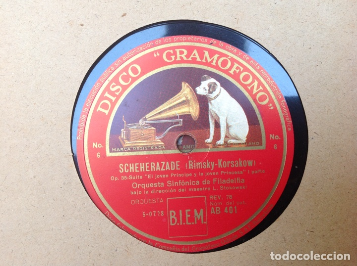 Discos de pizarra: ALBUM 12 DISCOS LA VOZ DE SU AMO FESTIVAL DE PASCUA RUSA - Foto 19 - 83366980