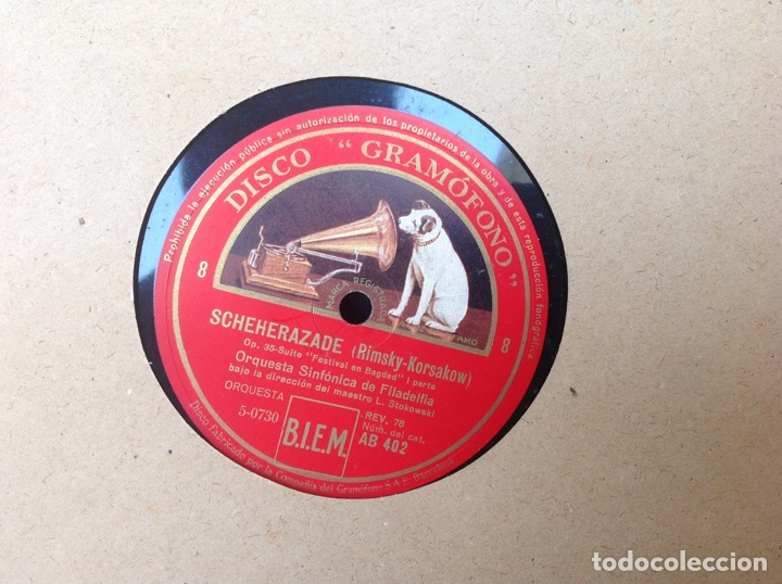 Discos de pizarra: ALBUM 12 DISCOS LA VOZ DE SU AMO FESTIVAL DE PASCUA RUSA - Foto 21 - 83366980