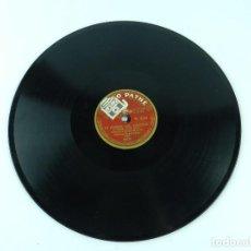 Discos de pizarra: DISCO DE PIZARRA EL TROVADOR (VERDI), TENOR SCAMPINI SOPRANO BONINSEGNA, DISCO PATHE 84141, 84142.. Lote 85700384