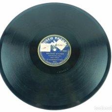 Discos de pizarra: ANTIGUO DISCO DE PIZARRA, EL MAÑICO Y LOS GUITARRICOS Y BULERIAS GITANAS, POR AMALIA MOLINA, ED. PAT. Lote 85702044