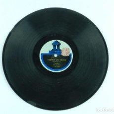 Discos de pizarra: DISCO DE PIZARRA LA TACUARITA / NUBES DE HUMO, DUO GARDEL - RAZZANO, ED. ODEON 139883-139882. GOLPEC. Lote 85978508