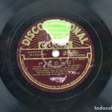 Discos de pizarra: DISCO DE PIZARRA NOVIECITA MIA / PIEDAD, POR CARLOS GARDEL, ED. ODEON.. Lote 85979244