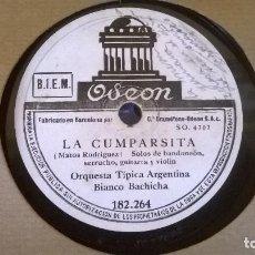 Discos de pizarra: LA COMPARTISTA Y LO HAN VISTO CON OTRA. Lote 86016872