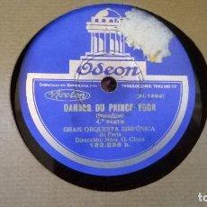 Discos de pizarra: MOI J, M, EN FOUS . Lote 86018944