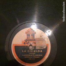 Discos de pizarra: MACHAQUITO - DISCO DE PIZARRA. Lote 86392636