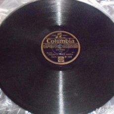 Discos de pizarra: DISCO DE PIZARRA, CRIQUE, LA COMPARSITA. EDICION COLUMBIA. D. . Lote 86648844