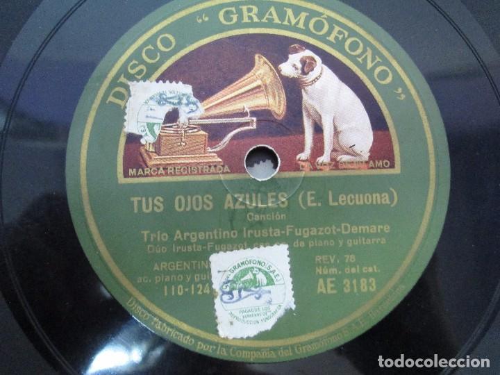 Discos de pizarra: LOTE 10 DISCOS PIZARRA 78RPM + ALBUM. LA VOZ DE SU AMO. GRAMOFONO. VER FOTOGRAFIAS ADJUNTAS - Foto 13 - 87681084