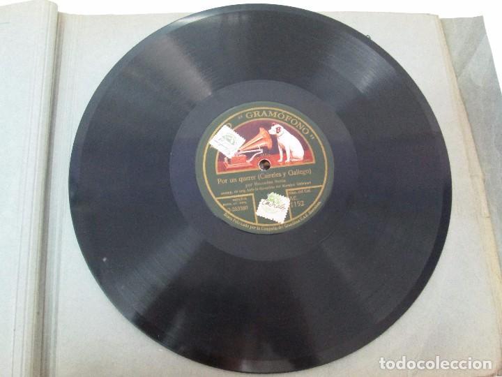 Discos de pizarra: LOTE 10 DISCOS PIZARRA 78RPM + ALBUM. LA VOZ DE SU AMO. GRAMOFONO. VER FOTOGRAFIAS ADJUNTAS - Foto 16 - 87681084