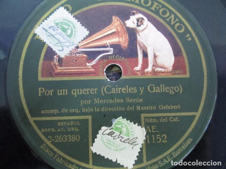 Discos de pizarra: LOTE 10 DISCOS PIZARRA 78RPM + ALBUM. LA VOZ DE SU AMO. GRAMOFONO. VER FOTOGRAFIAS ADJUNTAS - Foto 17 - 87681084