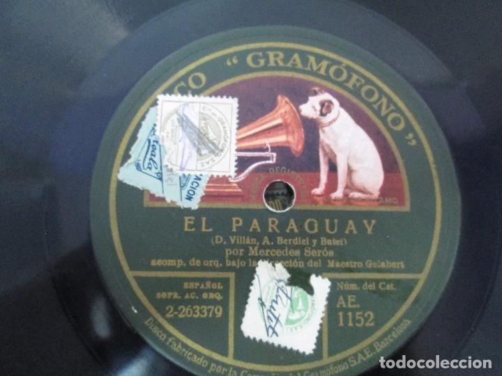 Discos de pizarra: LOTE 10 DISCOS PIZARRA 78RPM + ALBUM. LA VOZ DE SU AMO. GRAMOFONO. VER FOTOGRAFIAS ADJUNTAS - Foto 18 - 87681084