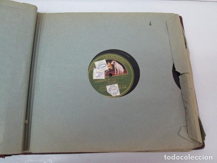 Discos de pizarra: LOTE 10 DISCOS PIZARRA 78RPM + ALBUM. LA VOZ DE SU AMO. GRAMOFONO. VER FOTOGRAFIAS ADJUNTAS - Foto 20 - 87681084