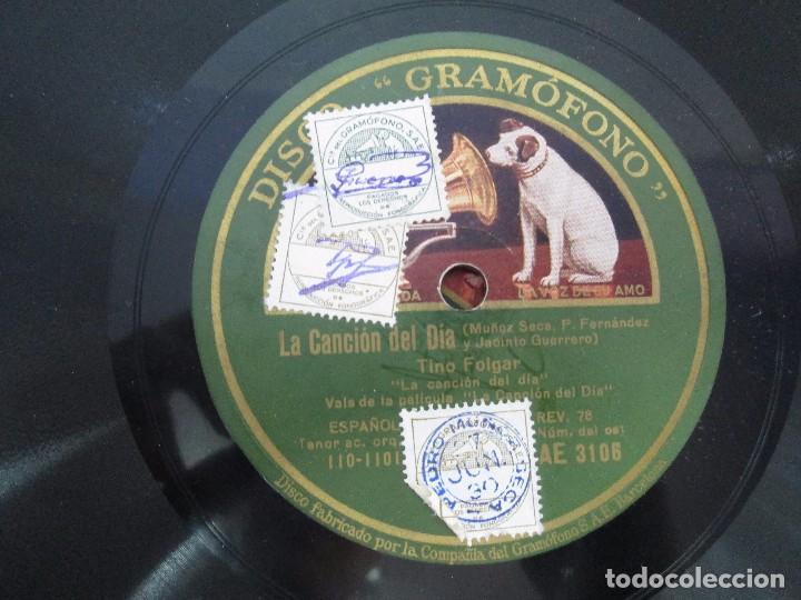 Discos de pizarra: LOTE 10 DISCOS PIZARRA 78RPM + ALBUM. LA VOZ DE SU AMO. GRAMOFONO. VER FOTOGRAFIAS ADJUNTAS - Foto 21 - 87681084