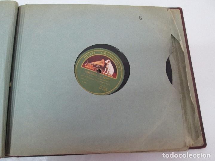 Discos de pizarra: LOTE 10 DISCOS PIZARRA 78RPM + ALBUM. LA VOZ DE SU AMO. GRAMOFONO. VER FOTOGRAFIAS ADJUNTAS - Foto 26 - 87681084