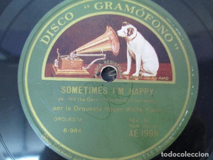 Discos de pizarra: LOTE 10 DISCOS PIZARRA 78RPM + ALBUM. LA VOZ DE SU AMO. GRAMOFONO. VER FOTOGRAFIAS ADJUNTAS - Foto 28 - 87681084