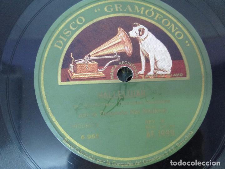 Discos de pizarra: LOTE 10 DISCOS PIZARRA 78RPM + ALBUM. LA VOZ DE SU AMO. GRAMOFONO. VER FOTOGRAFIAS ADJUNTAS - Foto 29 - 87681084
