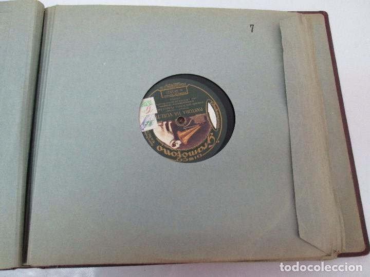 Discos de pizarra: LOTE 10 DISCOS PIZARRA 78RPM + ALBUM. LA VOZ DE SU AMO. GRAMOFONO. VER FOTOGRAFIAS ADJUNTAS - Foto 30 - 87681084