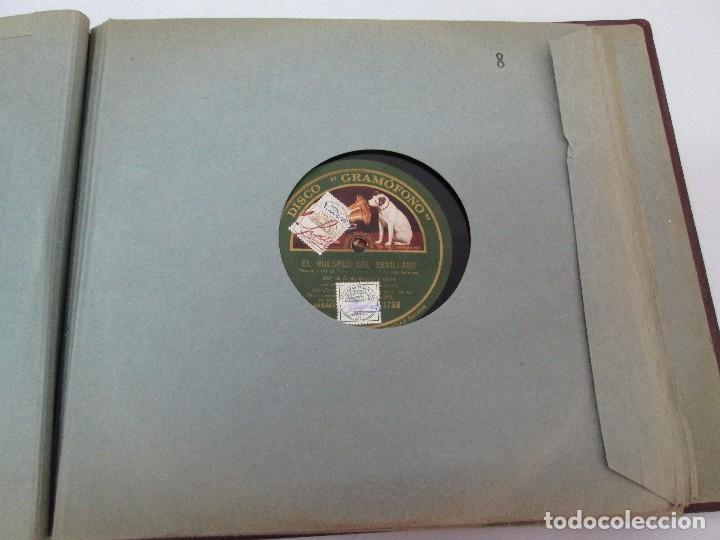 Discos de pizarra: LOTE 10 DISCOS PIZARRA 78RPM + ALBUM. LA VOZ DE SU AMO. GRAMOFONO. VER FOTOGRAFIAS ADJUNTAS - Foto 33 - 87681084